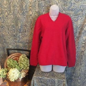 The Gap Ladies Pullover 100% Wool Size Medium